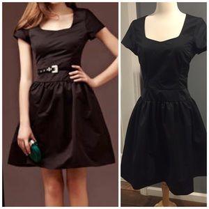 Reiss Dresses & Skirts - Black Reiss organza dress