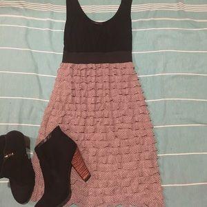 Soprano Dresses & Skirts - 🏀BOGO Black and ruffled polka dot dress