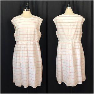 Garnet Hill Dresses & Skirts - Garnet Hill striped cotton tea dress