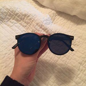 Spitfire Accessories - Spitfire postpunk blue reflective sunglasses
