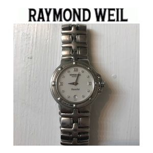 Raymond Weil Accessories - Raymond Weil woman's Parsifal watch  mother pearl