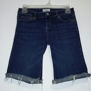 Aeropostale Pants - Aeropostale Bermuda Jean Shorts Sz 3/4