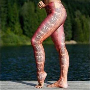 "Mika Yoga Wear Pants - Desert Snake ""Gabby"" legging by Mika Yoga Wear XS"