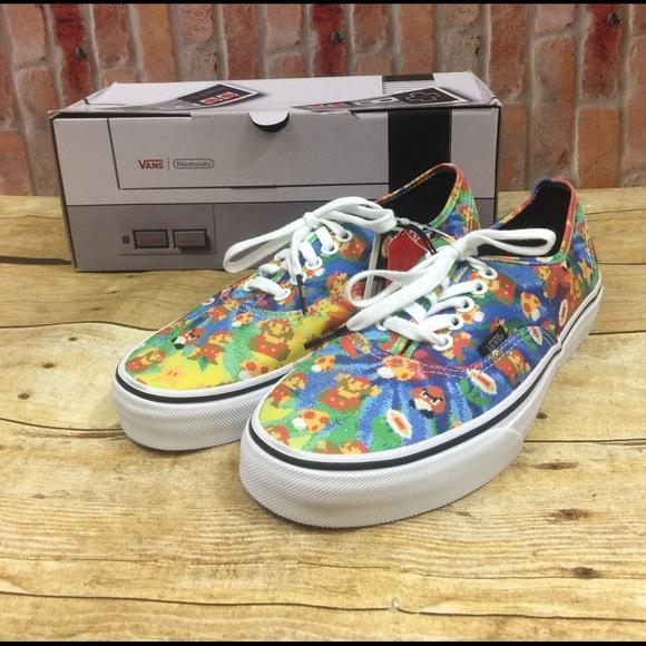 9dea4bf0c7 Vans Nintendo Super Mario Brothers Tie Dye Shoes