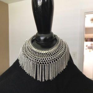Curvy Couture Jewelry - Awesome Bracelet Silver Boho Fringe NWT