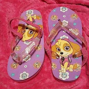 Nickelodeon Other - 💣FINAL PRICE🎀NWOT🎀PAW PATROL Skye Flip Flops