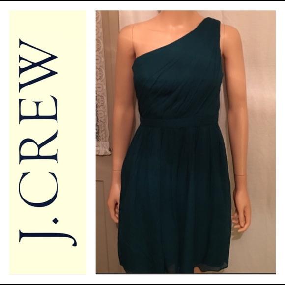 626b1295c87 J. Crew Dresses   Skirts - J.Crew Silk One Shoulder Dress