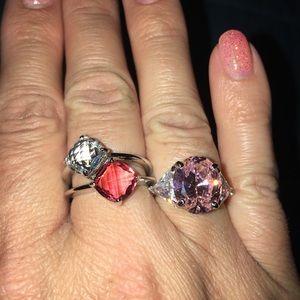 Swarovski Jewelry - Swarovski rings bundle