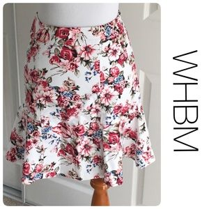 White House Black Market Dresses & Skirts - NWT WHBM floral skirt size 00