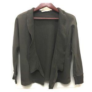 Stella McCartney Sweaters - EUC Stella McCartney Gray Cotton Cardigan