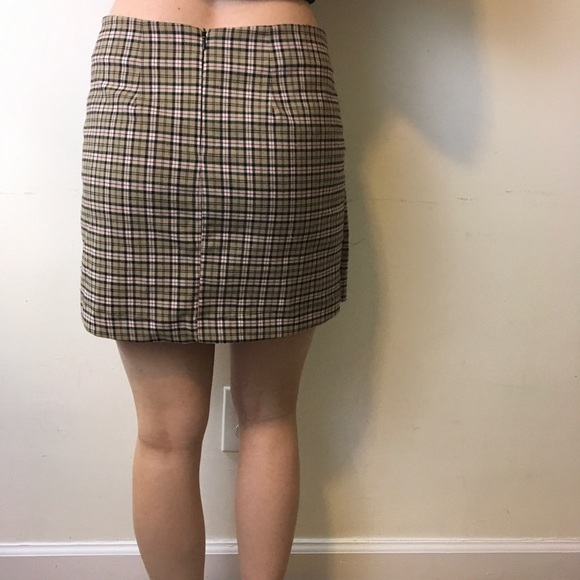 Brandy Melville - John Galt Brandy Melville Tan Plaid Skirt from ...
