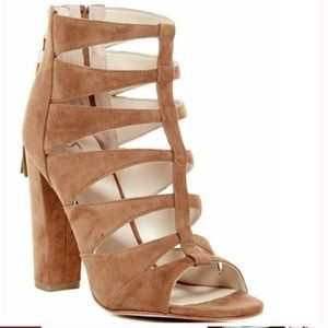Marc Fisher Shoes - NWOT Marc Fisher Hindera Caged Gladiator Sandals 8