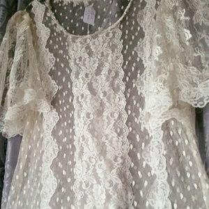 Vintage Long lace dress