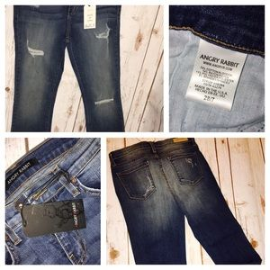Angry Rabbit Denim - 👖👖Angry Rabbit Sz 28/7 Distressed Jeans👖👖