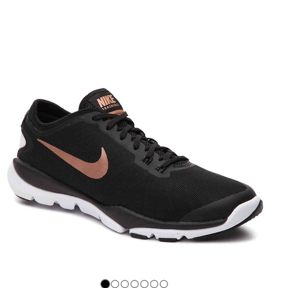Rose Gold and Black Nike Flex Supreme TR4. M 58d1fd2db4188e5ecf01c1c9 bd4b91c3ad