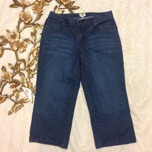 Izod Denim - Izod Cropped Jeans Size 10