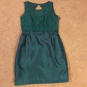 Dark green Taylor dress, sz 12