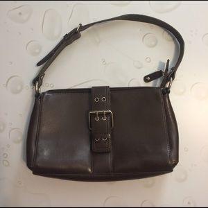 Wilsons Leather Handbags - Wilsons Leather Brown Shoulder Bag