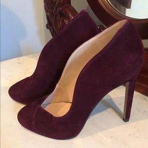 Nine West Shoes - 👠 Nine West Deep Red/ Burgundy Suede Heels 👠