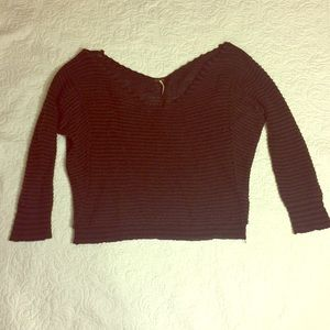Free People All Mine V-neck Sweater Sz M