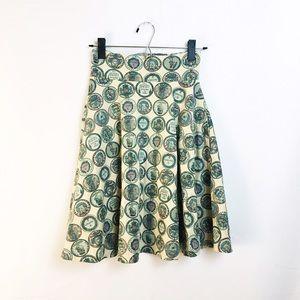 ModCloth Dresses & Skirts - MODCLOTH circle skirt pockets high waisted print