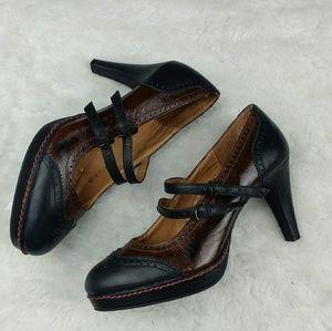 Anthropologie Shoes - schuler & sons philadelphia wingtip Mary Jane's 9