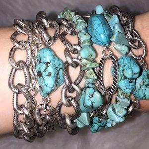 Barneys New York Jewelry - Authentic Turquoise Bracelet