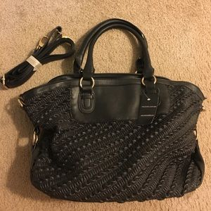 Black Rivet Handbags - NWT Black Rivet Leather purse w/ shoulder strap