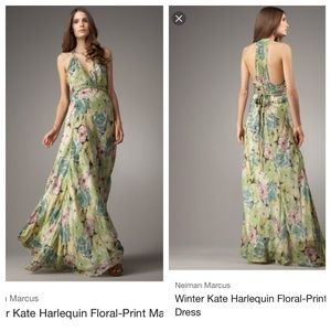 Winter Kate Dresses & Skirts - Winter Kate floral maxi dress