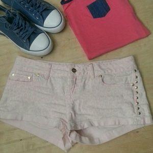 PINK Victoria's Secret Pants - V.S. Pink Denim Shorts