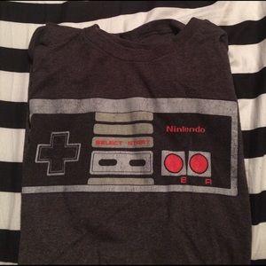 Nintendo Other - Grey tee