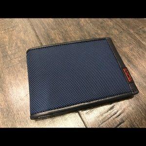 Tumi Other - 🆕 Tumi Billfold Men's Blue Wallet 🆕