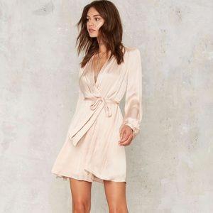 Bardot Dresses & Skirts - NWT Bardot Everlasting Love Champagne Pink Dress