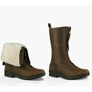 UGG Shoes - New! UGG Arquette Liz Genuine Shearling Cuff Boots