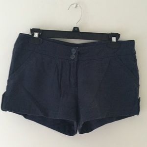 Pants - 🆕 Forever 21 Navy Blue Woven Shorts 🌷
