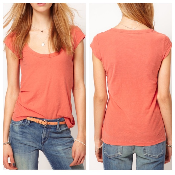 42 off james perse tops sale james perse scoop neck for James perse t shirts sale