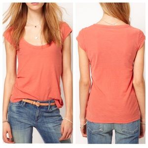 James Perse Tops - SALE James Perse Casual Peach T-shirt