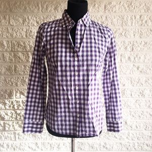 J. Crew Tops - J. Crew gingham button down