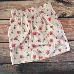 J. Crew Factory Dresses & Skirts - Floral skirt