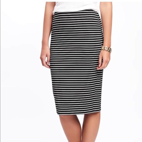 db8723c095 Old Navy Skirts | Jersey Pencil Skirt | Poshmark