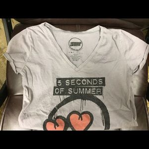 Bravado Tops - 5 Seconds of Summer tshirt