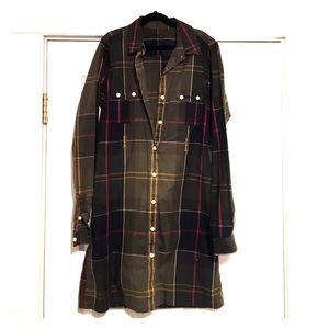 Barbour Dresses & Skirts - Barbour plaid shirt dress
