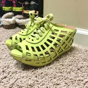 bamboo Shoes - Fun Lime shoes