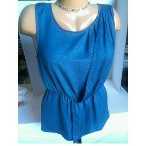 Mossimo Supply Co Tops - New Teal Mock Wrap Top Size Medium