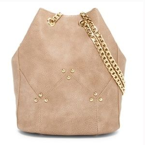 Taupe Maisie Bucket Cross body Bag