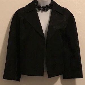 Kasper Jackets & Blazers - NWOT Black Short Crop Jacket