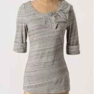 Anthropologie Tops - H15-STCL Postmark Bojagi Gray Origami Blouse Top