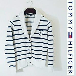 Tommy Hilfiger Tops - Tommy Hilfiger sweater jacket! Medium