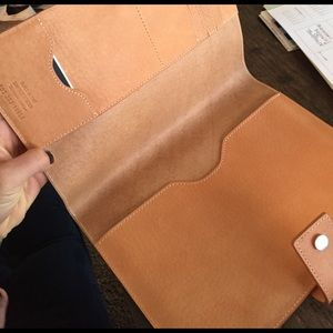 Shinola Accessories - Authentic leather Shinola agenda/ iPad mini cover
