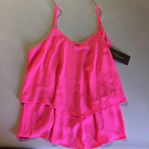 Francesca's Collections Tops - Pink tank top from Francesca's! NWT! Size small!